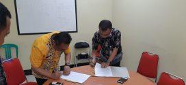 Kegiatan Penandatanganan MOU tentang Pelayanan RS antara RSUD Kota P.Raya dgn RS Awal Bros Betang Pambelum P.Raya (kamis 03 Oktober 2019)