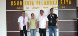 Kunjungan Tim WWF Provinsi Kalteng ke RSUD Kota Palangka Raya, (Rabu, 02 Oktober 2019 pkl 09.00 WIB)