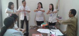 Sosialisai TIM PPI RSU Kota Palangka Raya tentang Cuci Tangan 6 Langkah