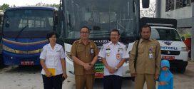 Kegiatan Uji Coba Trayek Baru Bus Rapid Transit ( BRT )