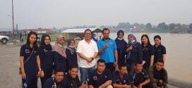 Kegiatan Kerja Bakti ASN ( PNS / CPNS / Tenaga Kontrak ) di Pelabuhan Rambang Jl. Riau ( Ponton ) Palangka Raya