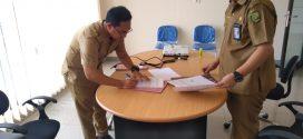 Kegiatan Penandatangan MOU antara Puskesmas Kalampangan dgn RSUD Kota terkait pelayanan dan akreditasi Puskesmas (Selasa, 24 September 2019, pkl 09.00 WIB di RSUD Kota Palangka Raya)