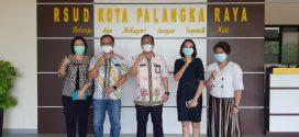 Kunjungan Direktur RS Permata Hati ke RSUD Kota Palangka Raya