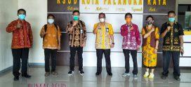 Visitasi Tim Monev Lab PCR COVID-19 RSUD Kota P. Raya ( Kamis, 18 Februari 2021 )