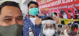 Kegiatan Vaksinasi Massal di GOR Indoor Jl. Tjilik Riwut Km. 5,5, P. Raya ( 20-21 Maret 2021 )
