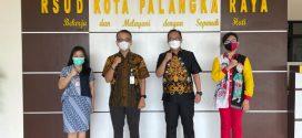 Penandatanganan MoU dgn Direktur & Manajemen RS Primaya Betang Pambelum Palangka Raya ( Kamis, 1 April 2021, pkl. 10.00 WIB, bertempat di RSUD Kota Palangka Raya )