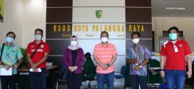 Kegiatan Vaksinasi Dinas Perkimtan Prop. Kalteng ( Jumat, 16 April 2021 ) di RSUD Kota Palangka Raya.