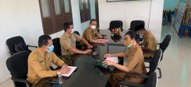 Kegiatan Rapat Koordinasi, terkait Pelayanan Kesehatan dgn phk Dinkes Kota P. Raya ( Selasa, 25 Mei 2021 )