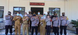 Kunjungan Kapolda Kalteng beserta Jajarannya ke RSUD Kota Palangka Raya ( Senin, 28 Juni 2021, pkl. 13.00 WIB )