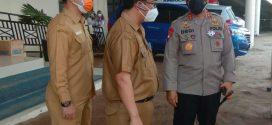 Kegiatan Kunjungan Bapak Kapolda Kalteng ke RSUD Kota Palangka Raya ( Selasa, 13 Juli 2021, pkl. 11.00 WIB )